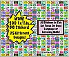 300 Language or Listening Theme STICKERS!