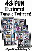 48 Illustrated  Tongue Twisters 6B!