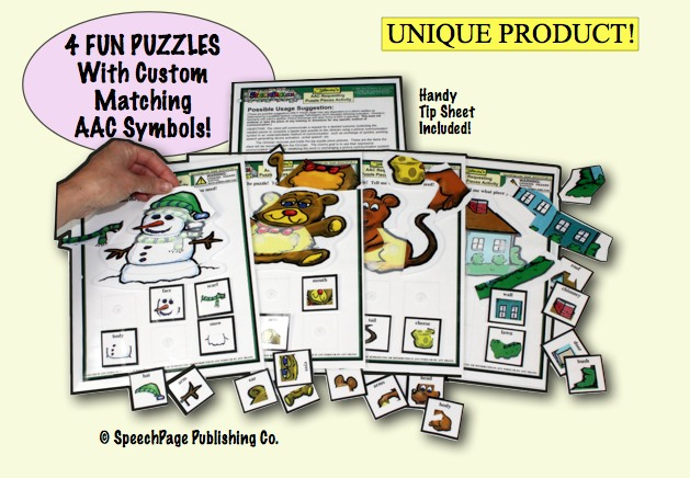Intro to AAC Requesting Puzzles Activity 4B
